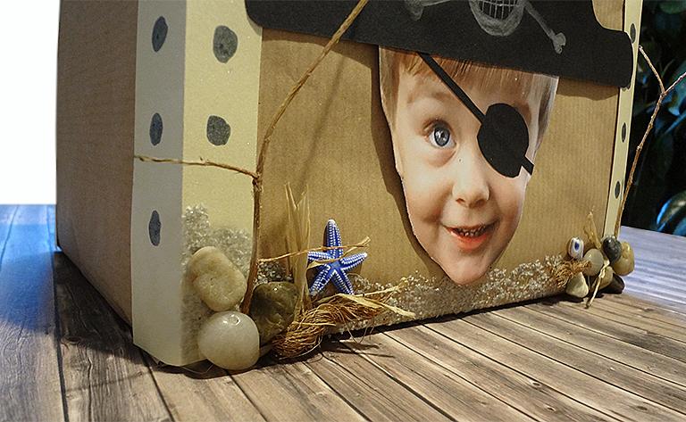 Geburtstagskind als Pirat