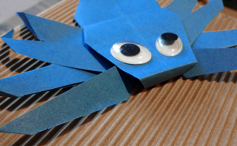 Origami Spinne