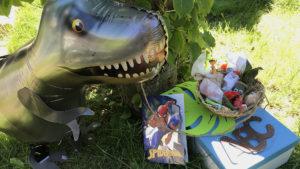 Einschlungsgeschenk Dinosaurier